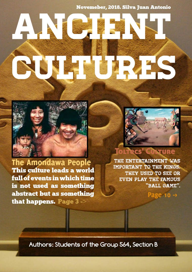 ANCIENT CULTURES 1