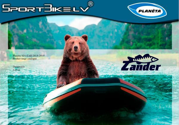 Zander Boats Catalogue