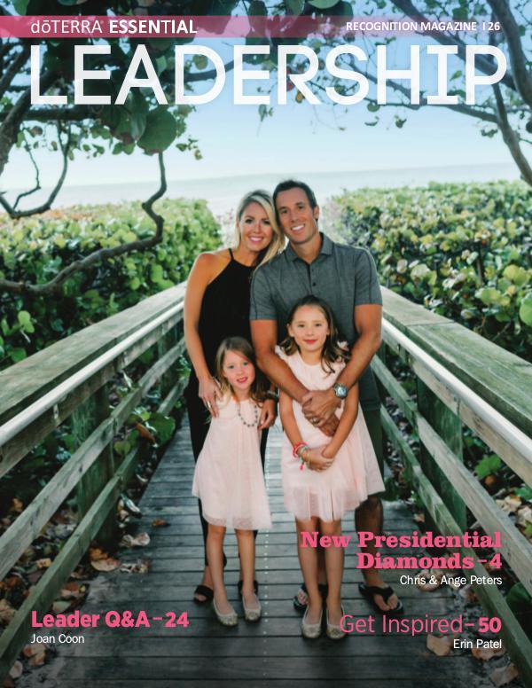 Leadership Magazines doTERRA Essential Leadership Magazine Issue 26