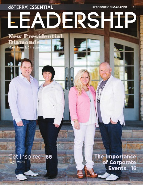 Magazines doTERRA Leadership Magazine Revista 9