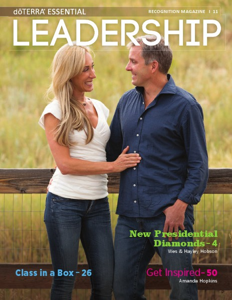 Magazines doTERRA Leadership Magazine Revista 11