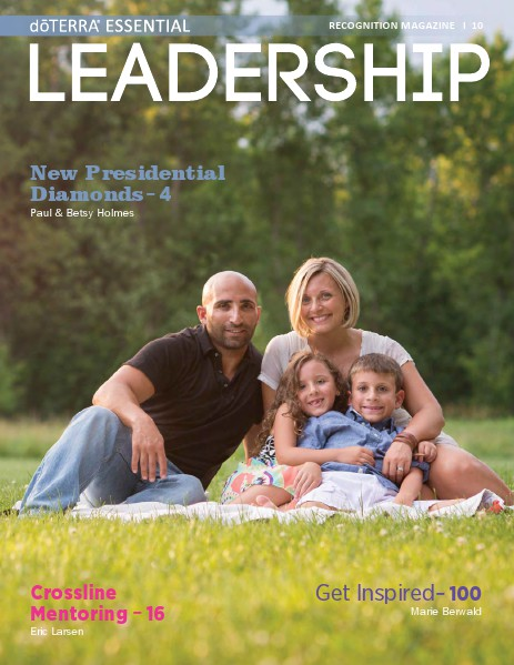 Magazines doTERRA Leadership Magazine Revista 10