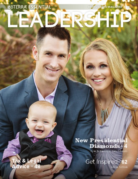 Magazines doTERRA Leadership Magazine Revista 12