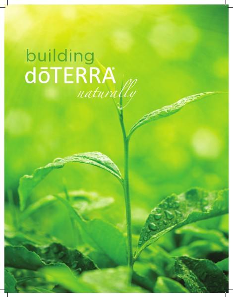 dōTERRA University Building Brochure Japan