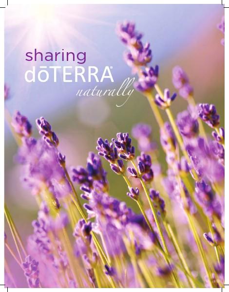 dōTERRA University Sharing Brochure Japan