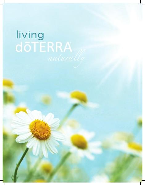 dōTERRA University Living Brochure Japan