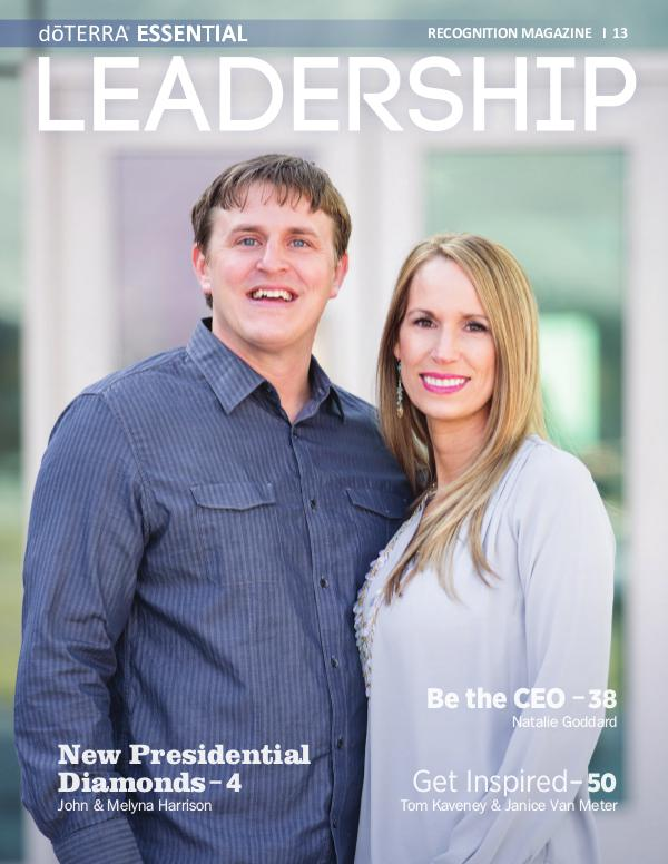 Magazines doTERRA Leadership Magazine Issue 13