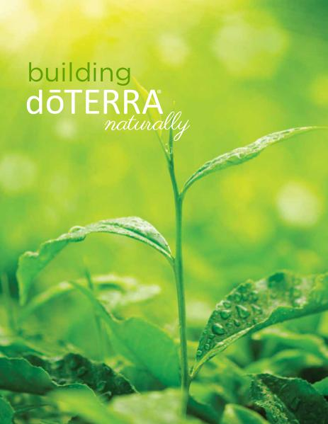 dōTERRA University Building Brochure v4