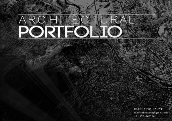 Architectural Portfolio Portfolio (2019) (REV) (original)