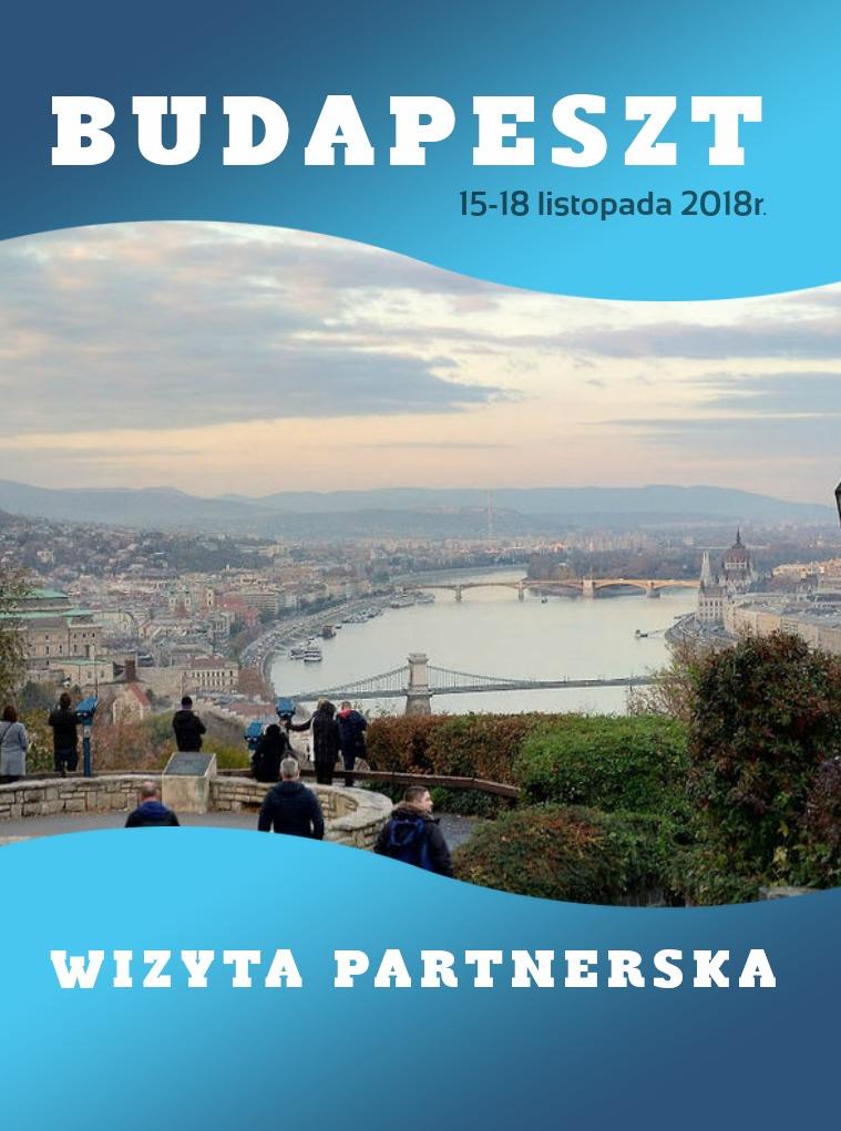 Budapeszt Listopad 2018 Wizyta partnerska