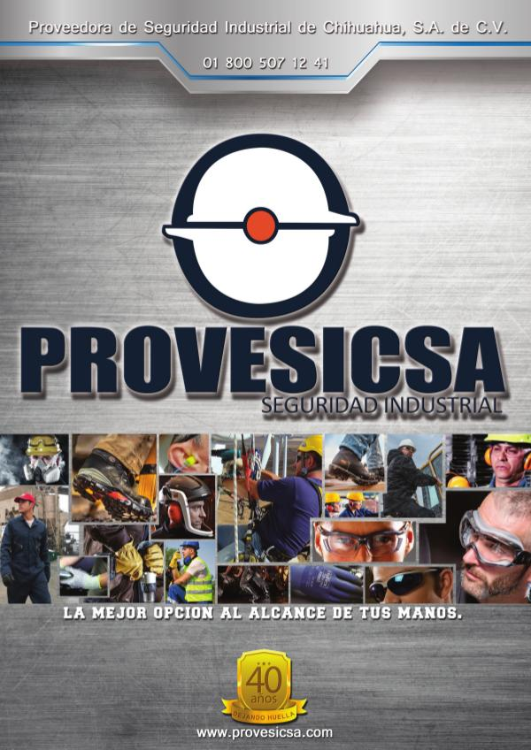 Catálogo Provesicsa 2017