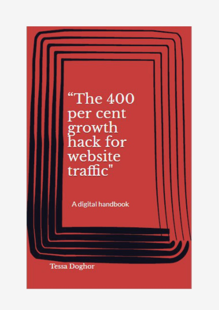 My first Magazine The 400 percent growth hack for website traffic