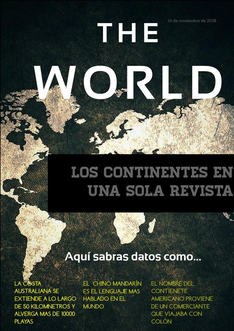 Mi primera revista Revista de los Continentes