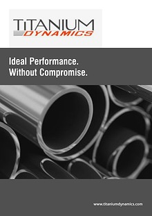 Titanium Dynamics Catalog