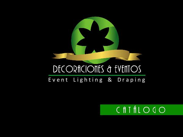 Decoraciones y eventos 2018 catalogo E&D noviembre 2018