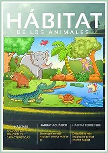 Hábitat de los animales, Segundo Básico, Unidad 2