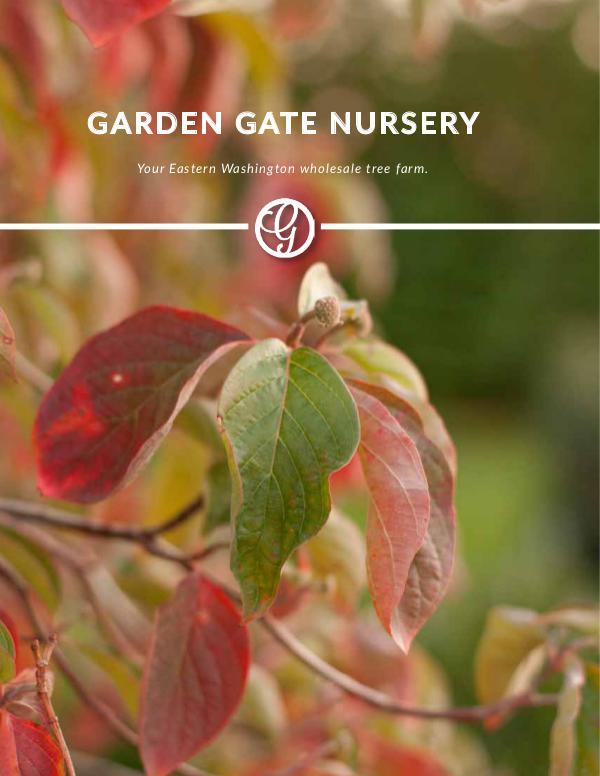 Garden Gate Nursery Fall Catalog, 2018