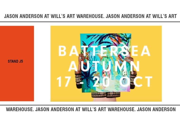 Jason Anderson at Battersea Affordable Art Fair 1