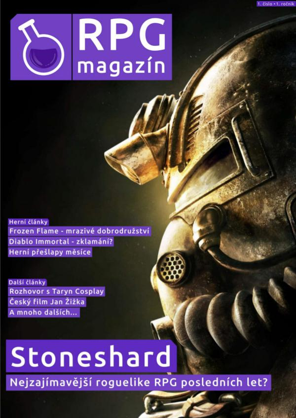 RPG magazín - 1. číslo RPG magazín - 1. číslo