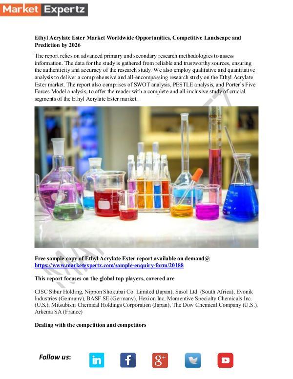 My first Publication Ethyl Acrylate Ester Market 12