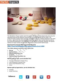 Metabolism Drugs market 2019-2026