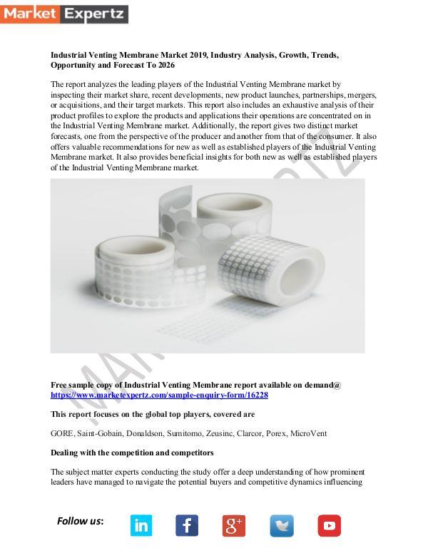 Industrial Venting Membrane