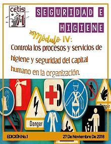 Revista de seguridad e higiene