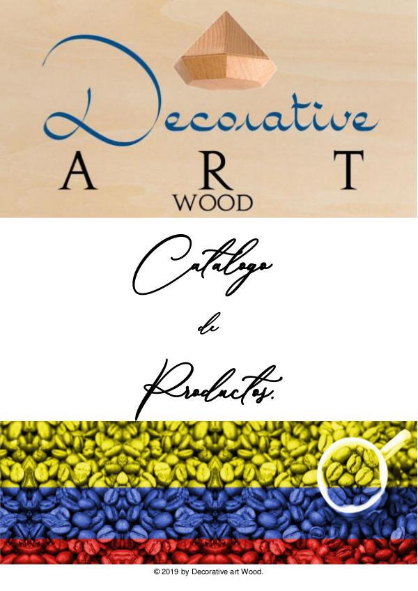 catalogo decorative art wood 2019 catalogo 2019