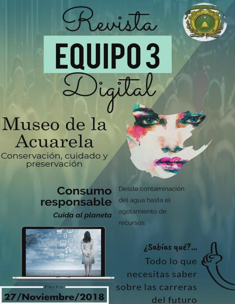 Mi primera revista Revista digital Equipo 3