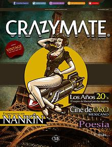 "CrazyMate Magazine Vol 7 ""Vintage"""