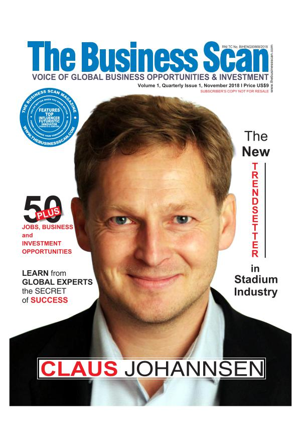 The Business Scan Magazine The Business Scan Magazine