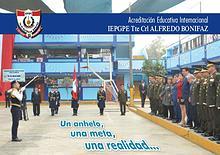 Acreditación Educativa Internacional IEPGPE Tte. Crl. Alfredo Bonifaz