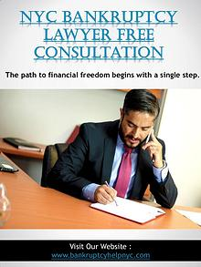 NYC Bankruptcy Lawyer Free Consultation