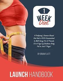 The 1 Week Diet By Brian Flatt Free Download