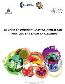 MEMORIAS DE SEMINARIOS POSGRADO EN CIENCIAS EN ALIMENTOS ITTEPIC