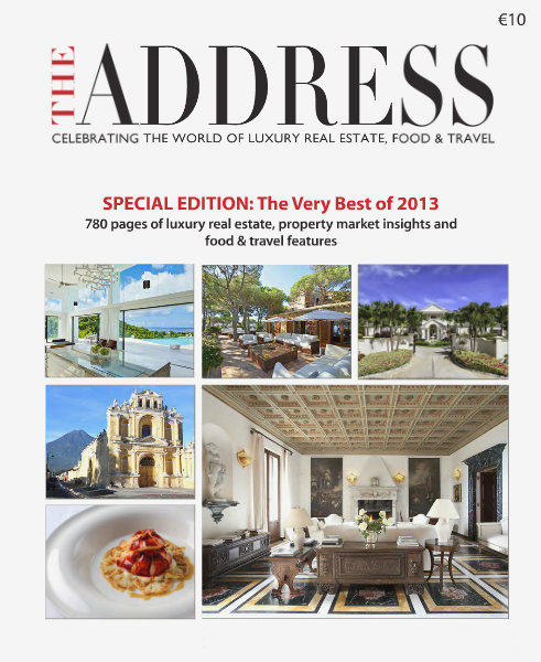 THE ADDRESS Magazine Special Edition: The Very Best of 2013 Dec. 2013