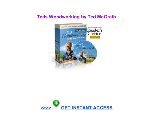 TedsWoodworking Ted McGrath pdf download reviews TedsWoodworking  Ted McGrath pdf download