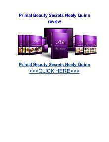 Primal Beauty Secrets Neely Quinn