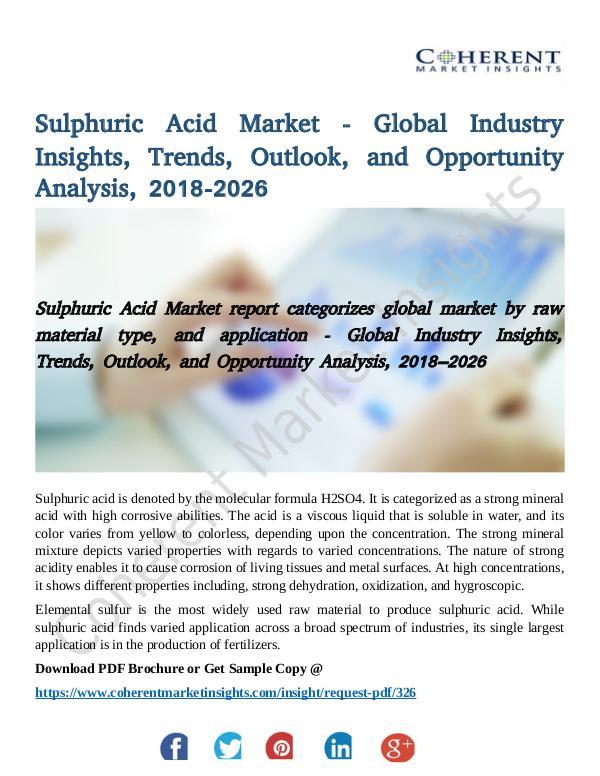 Sulphuric Acid Market