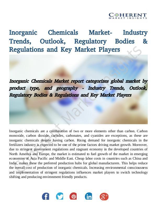 Global Inorganic Chemicals Market