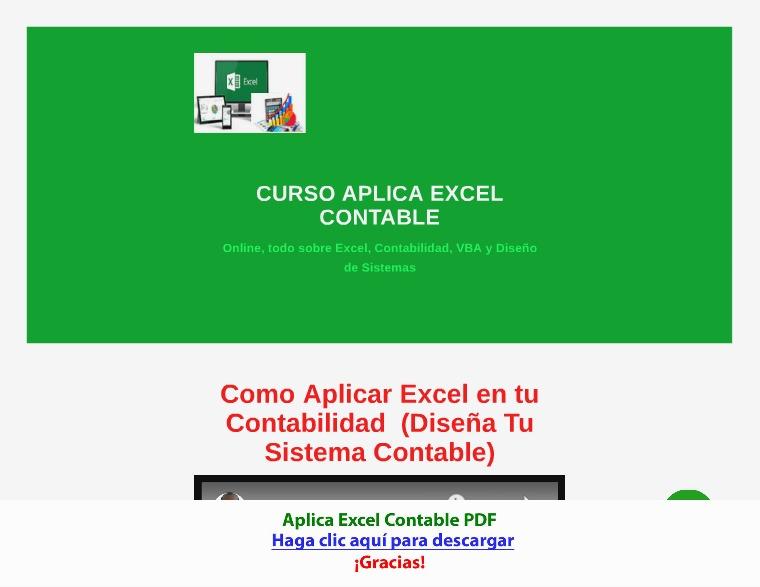 Aplica Excel Contable [PDF]