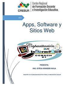 Apps, software y sitios web