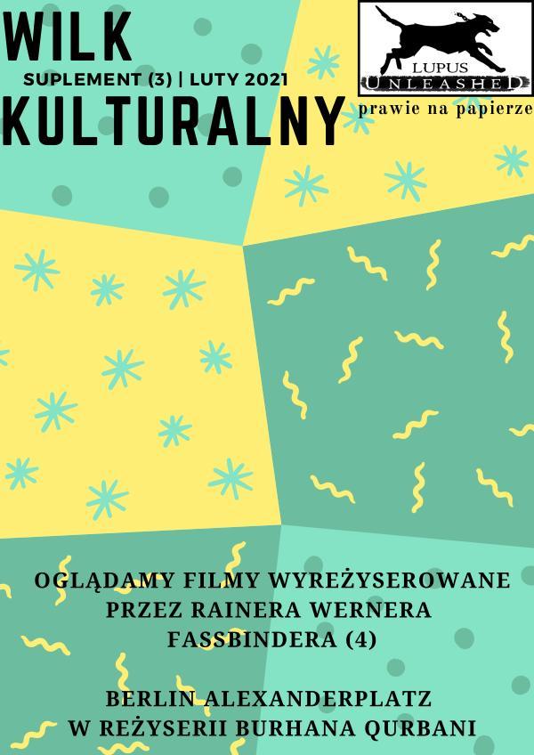 Wilk Kulturalny Suplement Lutowy 2021