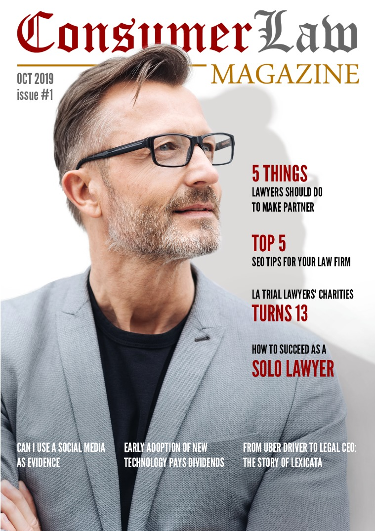 The Consumer Law Magazine Issue #1 Oct 1
