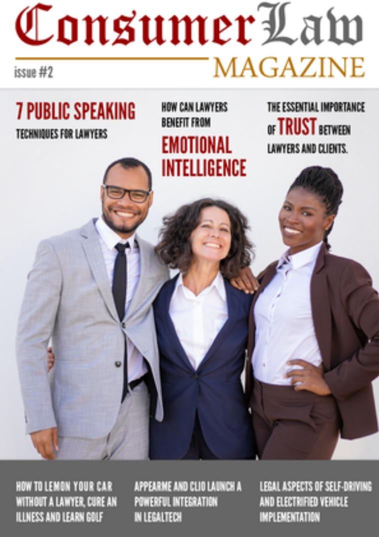 The Consumer Law Magazine Issue #2 Nov 1