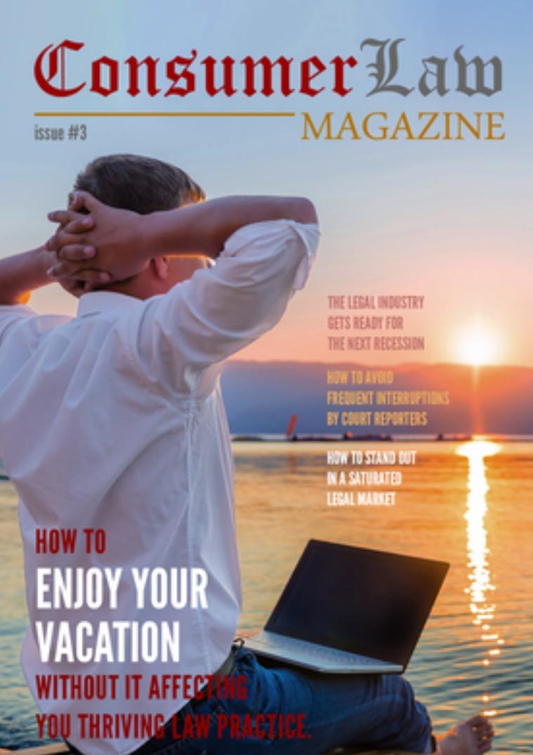 The Consumer Law Magazine Issue #3 Dec 1