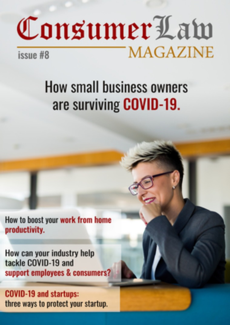 The Consumer Law Magazine Issue #8 May 1