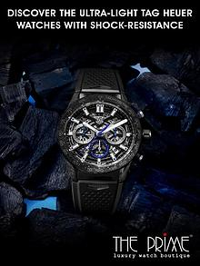 Discover The Ultra-Light Tag Heuer Watches With Shock-Resistance