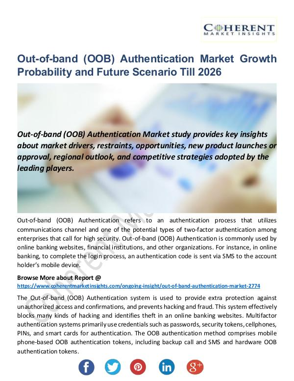 Out-of-band (OOB) Authentication Market