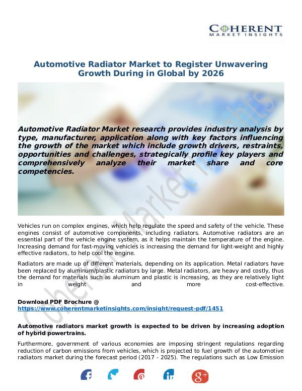 Automotive-Radiator-Market